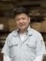 大川化粧合板工業協同組合  理事長 池末 和海